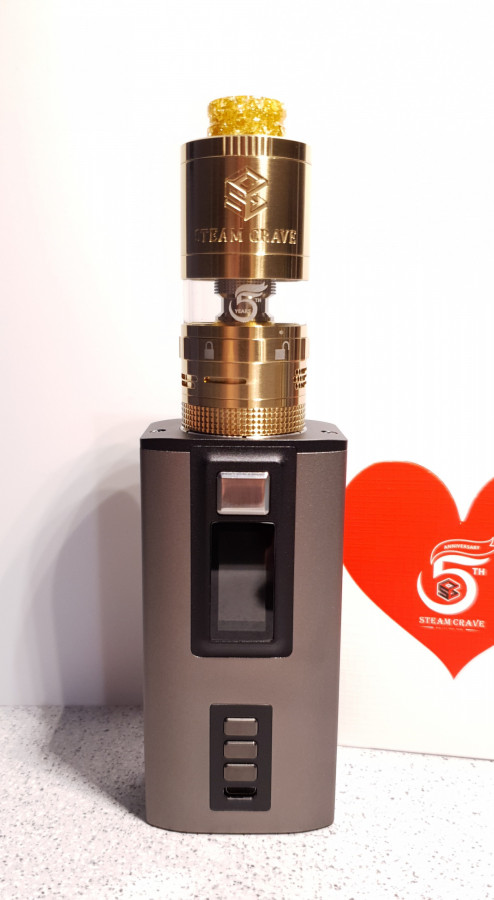 """Steam Crave Hadron 220 / Steam Crave Aromamizer Plus V2 """"limited edition"""""""