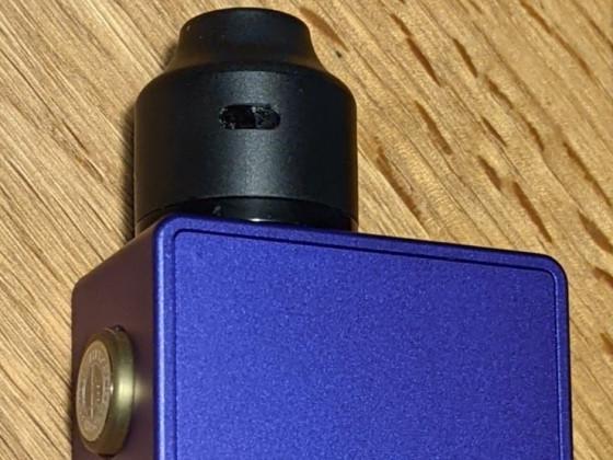 Bushido Squonk Mod 18650 mit Wasp Nano RDA