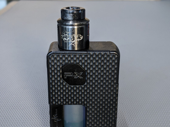 Wotofo meets VandyVape | Perfect Combination | Wotofo Profile 1.5 RDA auf VandyVape Pulse PX