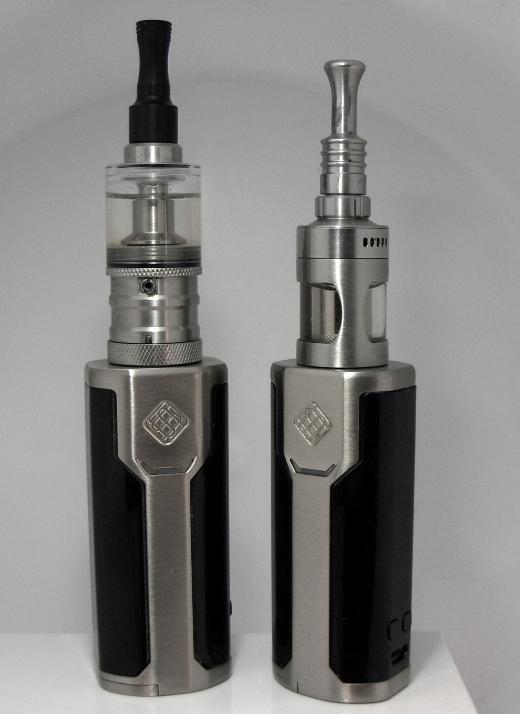 Alte Seriengeräte. Flashi und Cubis Pro auf Wismeck P80